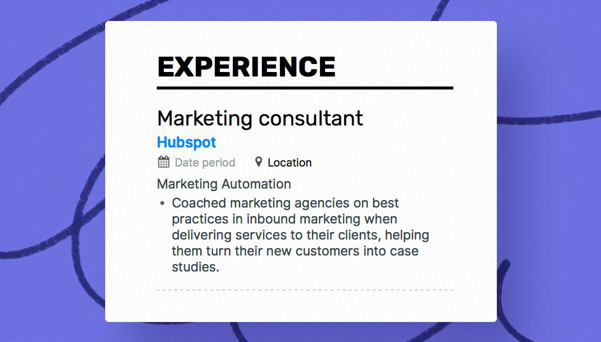 the best 2019 marketing resume example guide