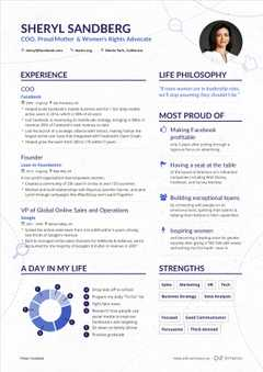 Marissa Mayer S Yahoo Ceo Resume Example Enhancv