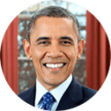 Barack Obama Former President of the United States photo