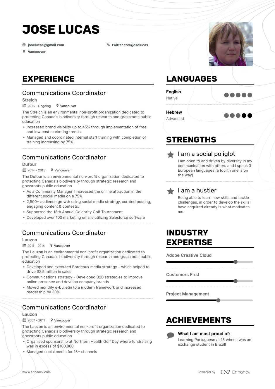Download Communications Coordinator Resume Example For 2020