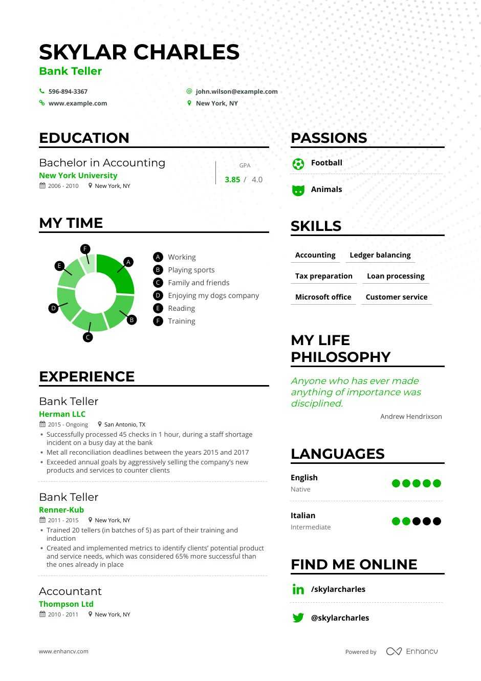 bank teller resume examples and skills you need to get hired
