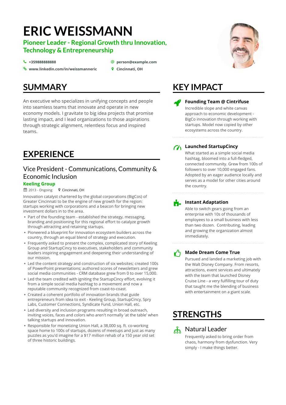 Download Marketing Resume Example For 2020 Enhancv Com