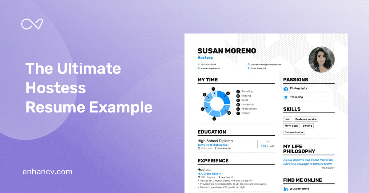 hostess resume example and guide for 2020