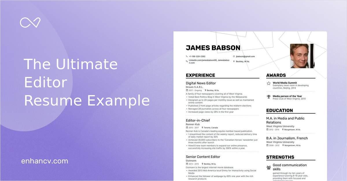 contoh desain curriculum vitae yang menarik