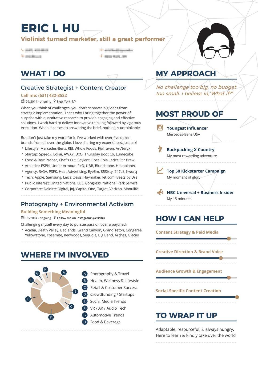 Real Creative Marketing Resume Example Enhancv