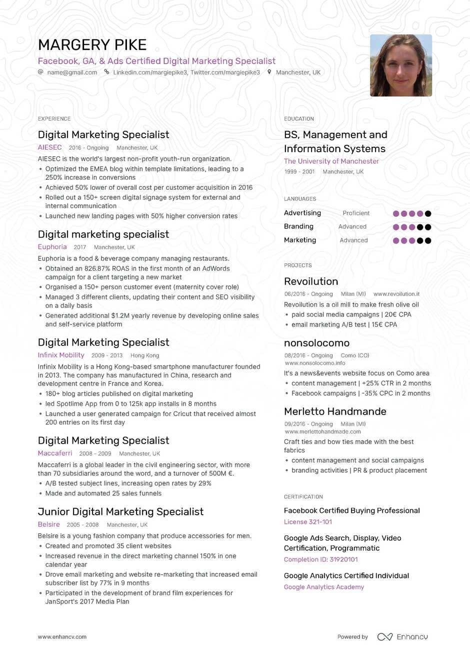 cfo resume example and guide for 2019