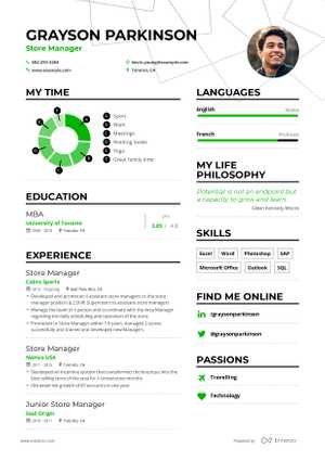 Grayson Parkinson resume preview