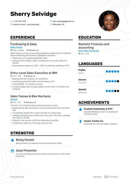 530 Free Resume Examples For Every Job Industry In 2020