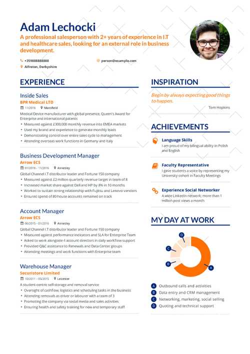 Adam Lechocki resume preview