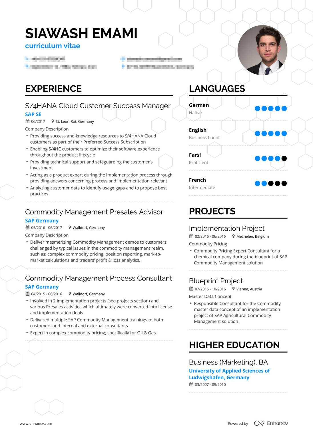 Real Customer Support Resume Example | Enhancv