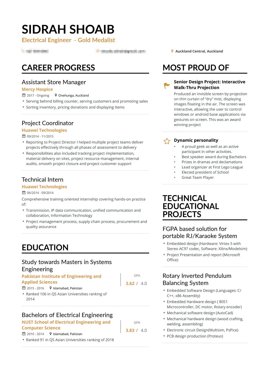 Engineering Resume Delectable Real Electrical Engineer Resume Enhancv